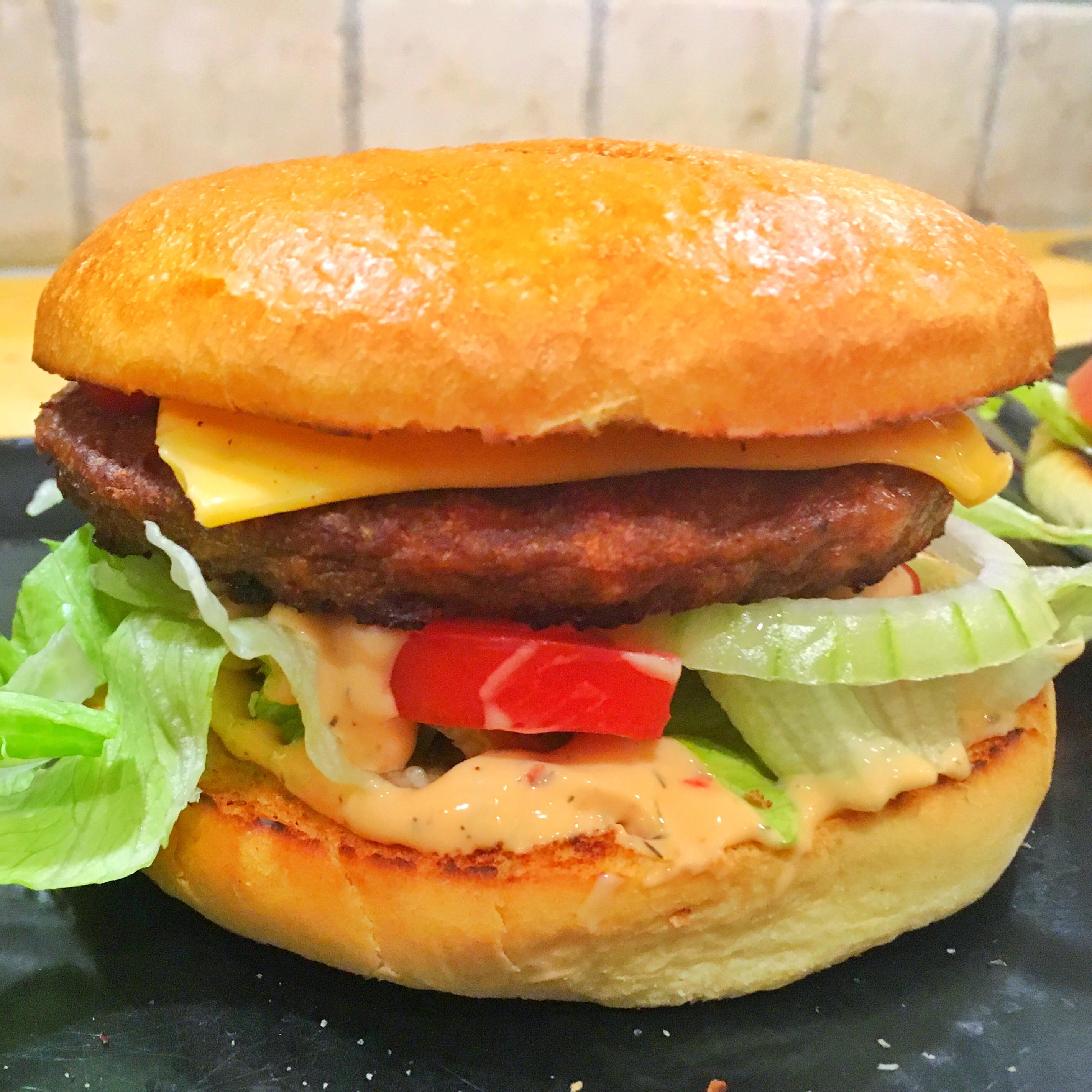 Endelig en god vegetarburger
